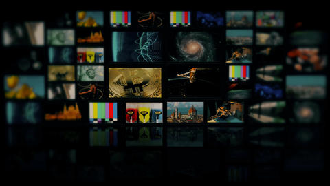 Virtual tv studio is designed to be used as a virtual background in a green scre Live Action