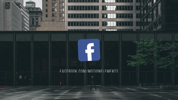 Social Media Networks Logos and Lower Thirds Plantilla de After Effects
