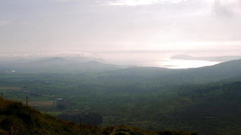 Wide View From Weatherstation, County Cork, Ireland - Graded Version Footage