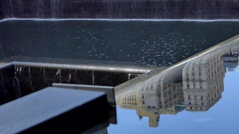 New York September 11, 2001 Memorial Waterfall - VIII Live Action