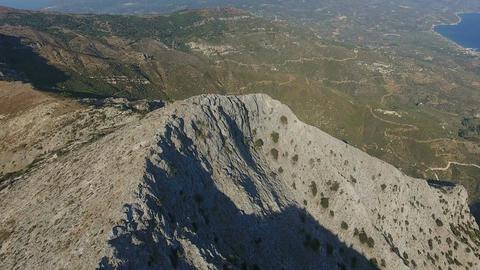 Above a Rocky Ridge 1 Footage