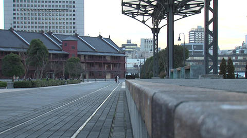 Yokohama Red Brick Warehouse Footage