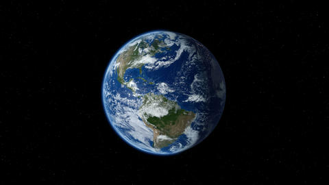Earth Zoom In From Space To Street Level. Zoom To North America. 4K stock footage