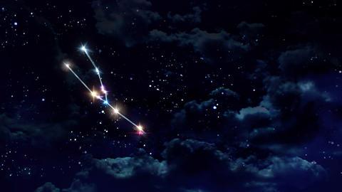 02 Taurus Horoscopes night Animation