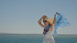 Bikini Female Enjoying The Cruise 1