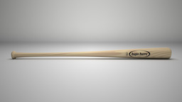 Baseball Bat 3D Modell
