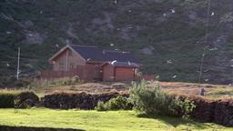 Iceland Small village Footage