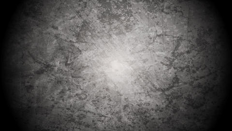 Interference on old grunge grey wall video animation Animation