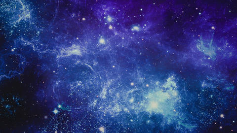 Space Galaxy and Nebula Filmmaterial