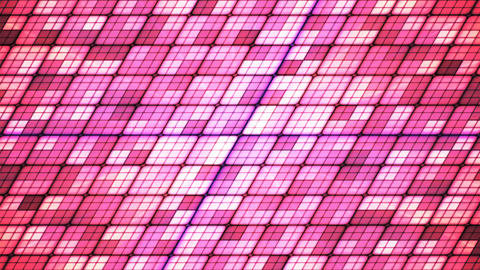 Broadcast Twinkling Slant Hi-Tech Cubes, Pink, Abstract, Loopable, 4K Animation