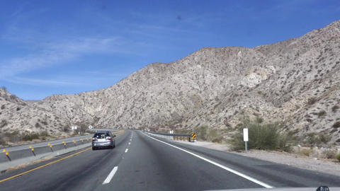 Route 62, Hyper time lapse of driving on interstate 10 and route 62, through Live Action