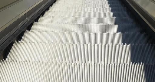 Escalators Up Close Up Footage