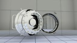 Bank vault Door 3D Modell