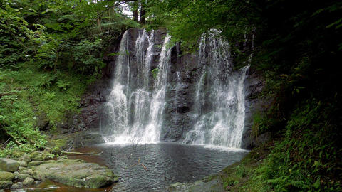 Glenariff Waterfall, Northern Ireland - Graded Version, Real 200fps SlowMo Footage