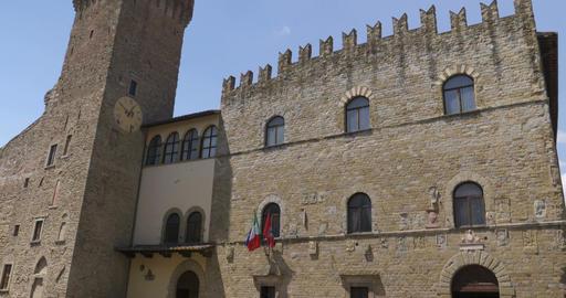 Arezzo Communal Palace Live Action