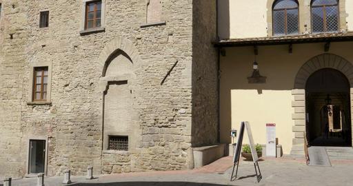 Arezzo Communal Palace Footage