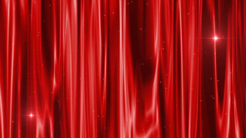 curtain red very beautiful composition Archivo