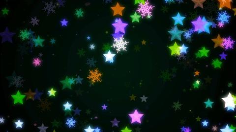 Night glitter zoom 24 Animation