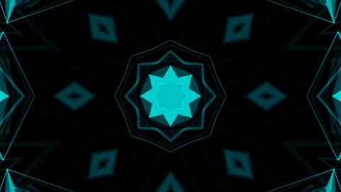 Kaleidoscope Patterns 4K Stock Video Footage
