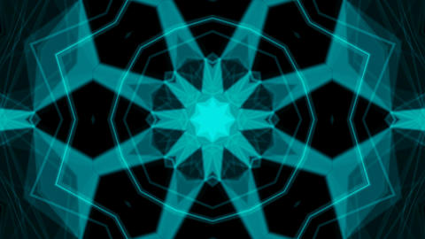 Kaleidoscope Patterns 4K Animación