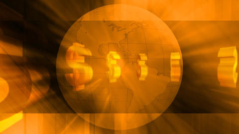 Global finance Footage