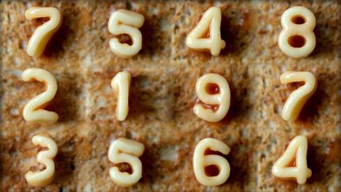 Number toast ビデオ