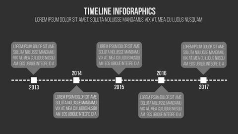 4 Infographics Elements Premiere Pro Template