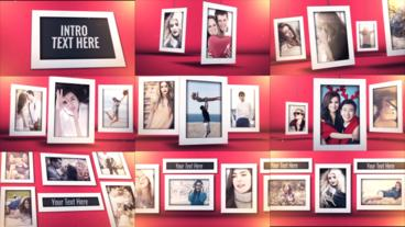 Photo Frame Template After Effects Template