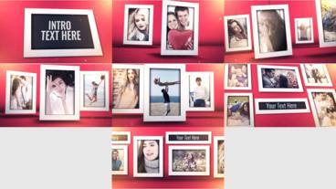 Photo Frame Template Plantilla de After Effects