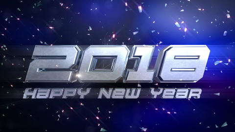 New Year 2018 Countdown Animation Animation