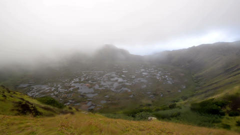 Bad Weather On Easter Island stock footage