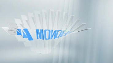 Glass Corporate Logo Plantilla de After Effects