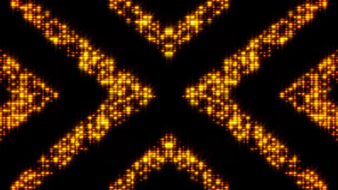 Flickering light background with arrows. Abstract digital backdrop. Technology Footage
