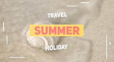 Summer Travel Premiere Pro Template