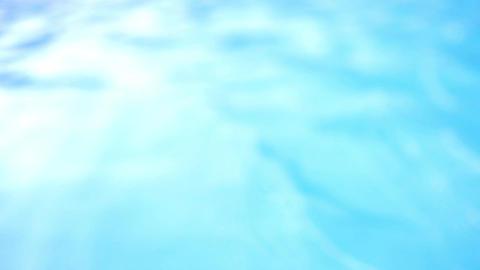 Blue swimming pool Footage