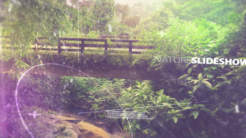 Mystic & Nature Slideshow After Effects Template