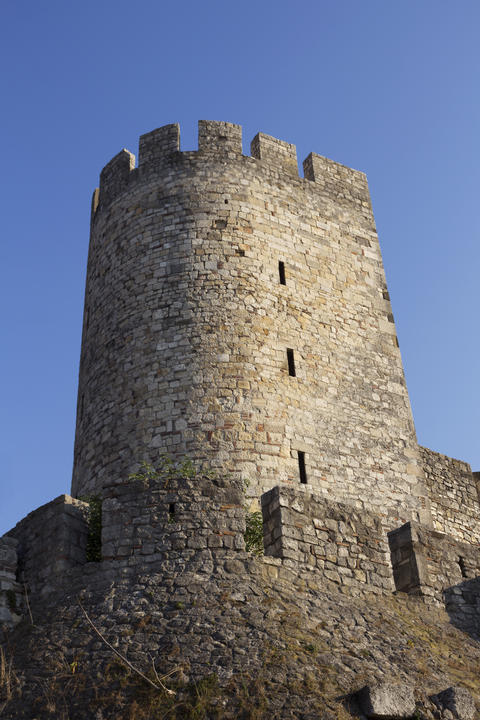 Fortress Of Kalemegdan and Tower in Belgrade, Serbia Photo