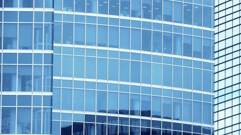 Modern office skyscraper details Footage
