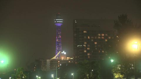yokohama marine tower Footage