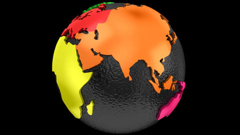 Rotating of Earth 画像