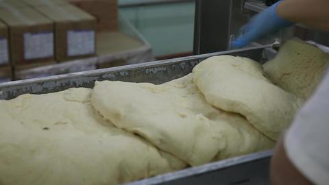 Confectioners prepare dough Live Action