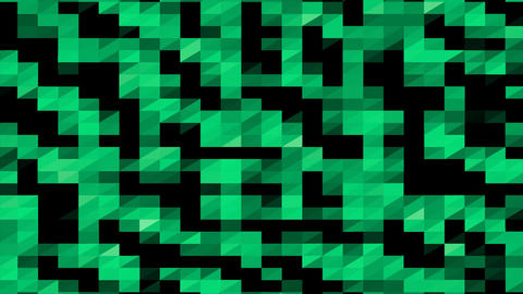 Abstract Digital Geometric Shape Background Stock Video Footage