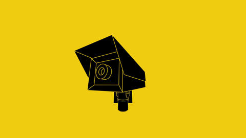 2d animated cctv Animation