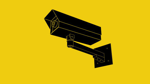 cctv warning camera icon Bild