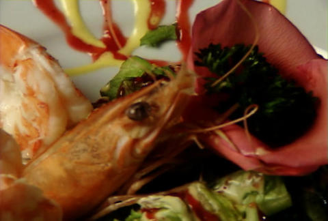 Shrimps display Image