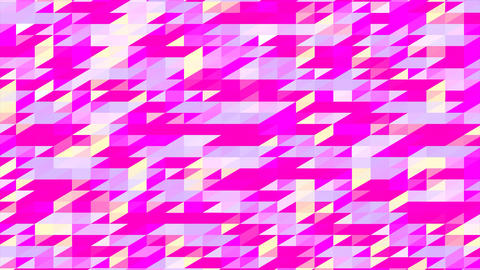 Abstraction Pattern Of Geometric Shapes GIF