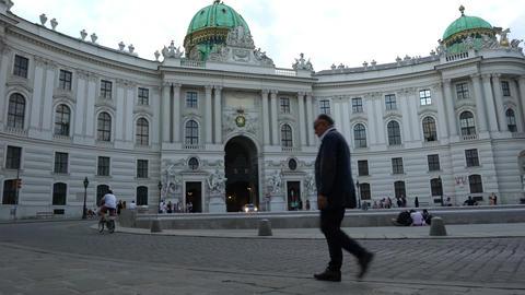 Hofburg palace in Vienna Image