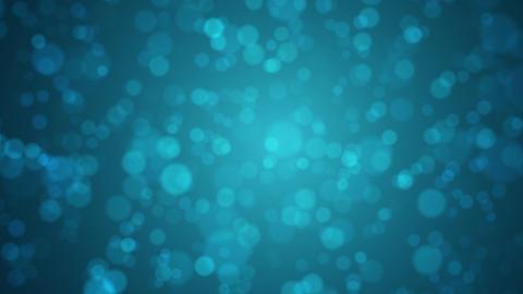 Soft blue bokeh motion background Animation