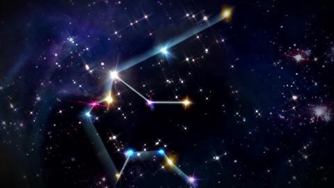 11 Aquarius Horoscopes space track in Animation