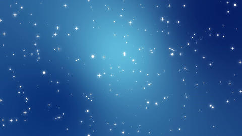Starry sky animated background Animation